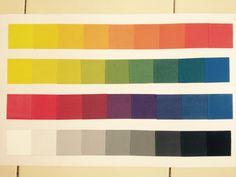 Nirmana • gradasi warna // 18 november 2014
