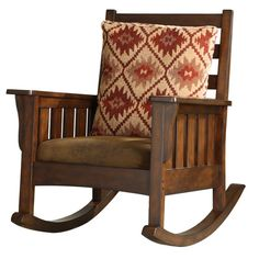 I pinned this Toren Rocking Chair from the Style Study: Americana event at Joss and Main!