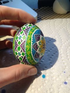 Pysanky egg dyeing (step-by-step process, OC) - Imgur