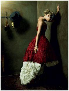Julia Stegner   Alexi Lubomirski #photography   Vogue Germany December 2008