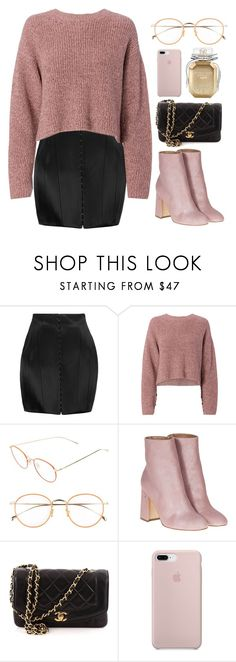 """Untitled #968"" by dolrebeca ❤ liked on Polyvore featuring Balmain, rag & bone, Derek Lam, Laurence Dacade, Chanel and Victoria's Secret"