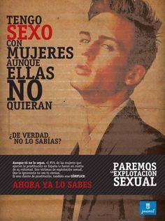 Campaña de carteles del Ayuntamiento de Madrid contra los clientes de las prostitutas | 20minutos.es