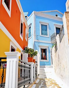 5 Reasons to Visit Symi – Greece Is - Travel Tips Mykonos Greece, Crete Greece, Athens Greece, Santorini, Places To Travel, Places To Visit, Travel Destinations, Greek Islands Vacation, Time Photography