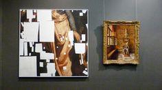WATERSCHOENEN: HOGE HORIZON - Bruegelland Vroeg 21ste eeuw in Stedelijk Museum Lier kunst schilderij concept schakeling grafisch