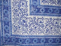 "Beautiful Rajasthan Block Print Tablecloth-60""x60"" HOMESTEAD http://www.amazon.com/dp/B002DWPF76/ref=cm_sw_r_pi_dp_6s1qwb1BXNRBG"