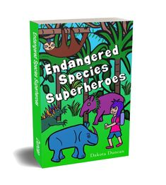Check out this book! I really enjoyed it. It features a strong teenage girl and her endangered species friends. It's a fun adventure with subtle messages about conservation, friendship and appreciating each other's unique abilities. Sumatran Rhino, Marine Iguana, Evil Villains, Animal Activist, Fun Adventure, Peaceful Life, Amazing Adventures, Endangered Species, Sloth