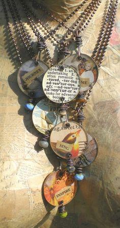 New jewelry artist, Kristi Evenson. I love her work!