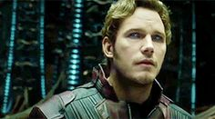 His eyes!! Chris Pratt - Peter Quill / Guardians Of The Galaxy 2
