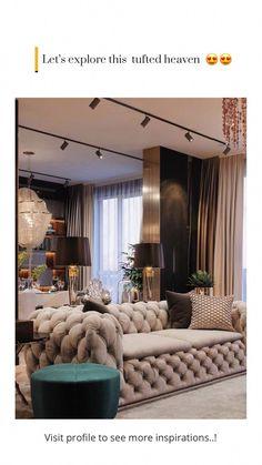 Interior Living Room Design Trends for 2019 - Interior Design Home Room Design, Luxury Living Room, Luxury Living Room Design, Living Room Decor Apartment, Luxury Modern Furniture, House Interior, Apartment Decor, Home Interior Design, Living Room Design Modern