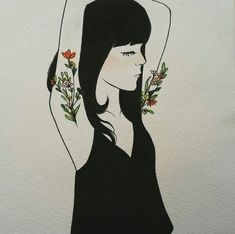 Image uploaded by 바네. Find images and videos about girl, black and art on We Heart It - the app to get lost in what you love. Art And Illustration, Illustrator, Feminist Art, Feminist Tattoo, Feminist Quotes, Oeuvre D'art, Art Inspo, Art Drawings, Cool Art