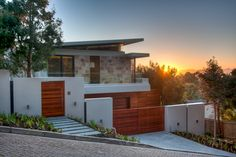 Completed works. Upper Holley Road, Newlands/Bishopscourt, Cape Town. By Darby Architects - www.darbyarchitects.co.za