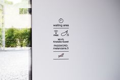 Interior signage - new headquarters #signal #signage #signposting #graphics #icon #icons #symbols