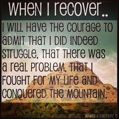 anorexia and bulimia recovery Ed Recovery, Anorexia Recovery, Recovery Humor, Recovery Tools, Robert Kiyosaki, Napoleon Hill, Tony Robbins, Quotes Dream, Inspirational Quotes