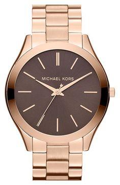 Michael Kors 'Slim Runway' Bracelet Simple
