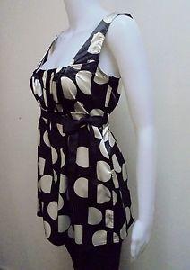Zara Basic Polka DOT Cami TOP Size S   eBay