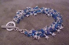 Shaggy Bracelet with Stars...  made for Lytle Wurtzel