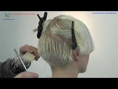 A super sexy feminine Pixie Bob hairstyle for Emmy  C&C Tutorial by T.K.S. - YouTube