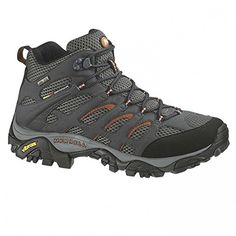 Introducing Merrell Moab Ladies grey Size 385 hiking shoes. Great product and follow us for more updates!
