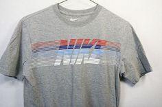 Nike M Solid Regular Size Cotton T-Shirts for Men Vintage Nike, Vintage Shirts, Vintage Outfits, Vintage Graphic, Diy Shirt, Apparel Design, Football, Cool T Shirts, Shirt Designs