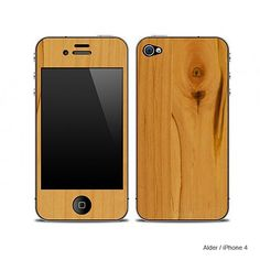 I don't have an iphone, but I like the wood.