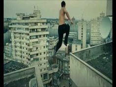 David Belle - Free Running / Parkour *turn down the sound if certain words bother you...but it's soo worth watching if you are an adrenalin junkie!