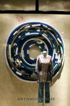 Anthropologie / Autumn / window / woollen / fabrics / blue / grey / comfort / cosy