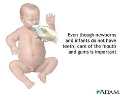 Prevent them from infant time.
