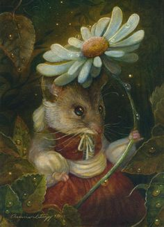 MS. FIELD MOUSE - THUMBELINA AND THE FOUR SEASONS - BY ANNIE STEGG