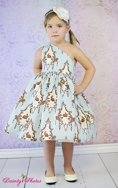 Paris' Party Dress PDF Sewing Pattern sizes by CreateKidsCouture