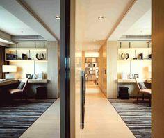 Study Room Design. Showflat, Serenade, Hong Kong RLP designer: Alistair Leung+team