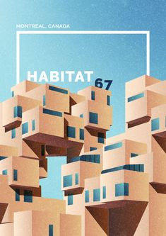 Dazzling Illustrations of Brutalism Architecture – Fubiz Media