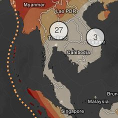 Earthquake Risk Zones by PRCC Disaster Data