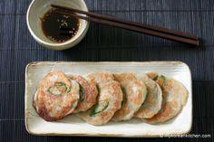 Gamja Jeon (Korean Potato Pancakes with Soy Sauce)