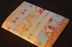 Fabric-covered journals:: a tutorial — In the Heart of My Home