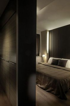 57 Stylish Masculine Bedroom Design Ideas