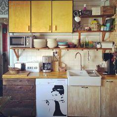 Rintamamiestalon remontoitu keittiö...