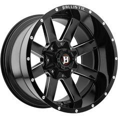 Ballistic 959 Rage Black Milled Offset Wheels Rims for sale online Jeep Wheels, Wheels And Tires, Black Rims, Black Wheels, 20 Inch Rims, 42 Inch, Wheel And Tire Packages, Aftermarket Wheels, Custom Wheels