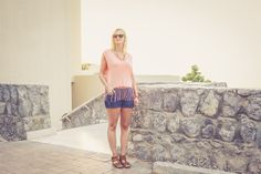 Dubai sunset and outfit of the day. The cove rotana resort in Ras al Khaimah