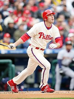 Favorite Phillies player...Chase Utley!