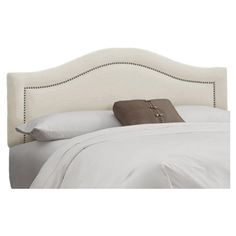 I pinned this Limoges Headboard in Talc from the Favored Finds event at Joss and Main!  This...for my bedroom