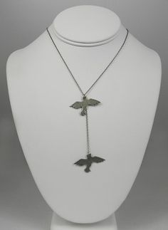 Double Bird Necklace from Armoire Boutique