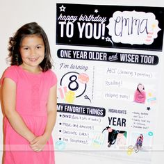 Best Birthday Ideas Personalized Poster -- such a fun idea and keepsake for your child! Birthday Jokes, Diy Birthday, Birthday Party Themes, Birthday Ideas, Princess First Birthday, Birthday Traditions, Personalized Posters, Family Birthdays, Happy Birthday Banners