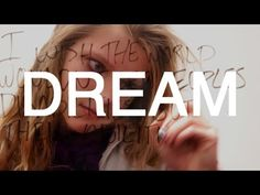 """""""Dream"""" is a transparent whiteboard film. Directed, shot, and edited by Sam Fathallah.  I set up a transparent whiteboard and had classmates write their dreams on it. I got the effect that I was looking for, being that both them and their words are visible.  I made the song by mixing Martin Luther King's I Have A Dream speech and Chris Garneau's Dirty Night Clowns.  If you could write on the whiteboard, what would you write? What is your dream?  Dream 