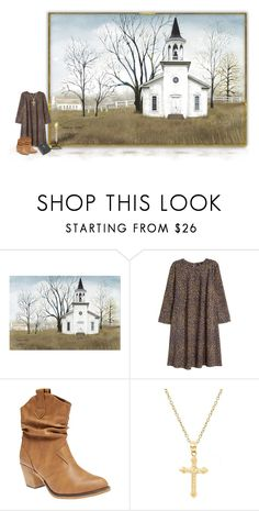"""""""Take me home, country roads."""" by joy2thahworld ❤ liked on Polyvore featuring H&M, Wet Seal, Pori and country"""