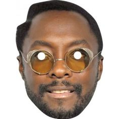 Will I Am Celebrity Face Mask 542