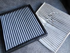 Compared to paper cabin air filters, K&N cabin air filters are much sturdier and guaranteed to last