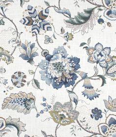 P. Kaufmann Ophelia Iris Blue Fabric - $21.65 | onlinefabricstore.net