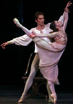 Alina Cojocaru & Johan Kobborg in R Royal Ballet