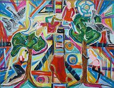 Nouvel article publié sur le site littéraire Plume de Poète - CASSANDRE EST LA MUSE QUI LIE SON ET SENS ! Alain Minod Muse, Les Fables, Abstract, Artwork, Images, Painting, American, The Soul, Contemporary