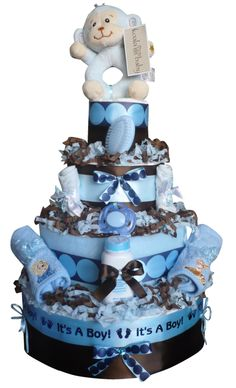 diper cake   Berry Cute Diaper Cakes Home Page - Baby Girl and Baby Boy Gifts
